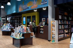 Blackwell's bookshop on Crown Place,  University of Liverpool Campus.