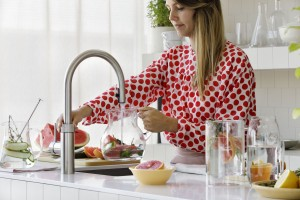 Quooker CUBE lifestyle watermelon